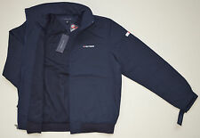 NWT TOMMY HILFIGER men's Jacket, S, Small, Navy Blue, Two Front Pockets, Hood