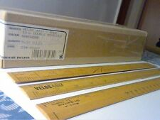 "VINTAGE WOODEN RULER 12"" VELOS 4917 Made in Gt.Britain-HARDWOOD-POSTAGE FREE!!!"