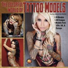 The Colorful World Of Tattoo Models - Book WP871