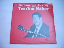 SEALED A Sentimental Journey with Two Ton Baker 1968 Stereo LP