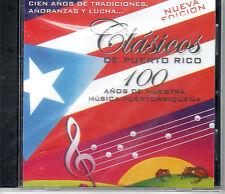 CLASICOS DE PUERTO RICO VOL.1- DAVILITA, TRIO VEGABAJEÑO,TONY CROATTO - Y MAS CD