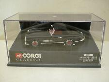 CORGI CLASSICS 1:43 MERCEDES BENZ 300 SL ROADSTER SOFT TOP NERA REF.: 03501 NEW