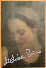 Melissa Errico-signed photo-22