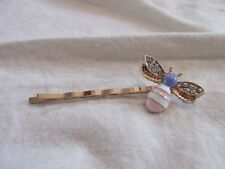 SO ADORABLE PINK PURPLE BUBBLE HONEY BEE HAIR CLIP BOBBY PIN 2 1/2 INCH C61