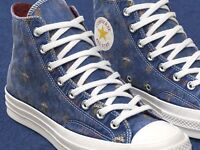 CONVERSE HIGH TOP PUMPS.NEW CLEVELAND CAVALIERS NBA ALL STAR CHUCK 70 HI TOPS