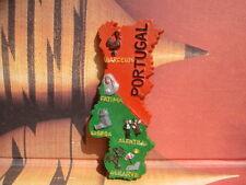 TOURIST SOUVENIR Resin 3D Fridge Magnet --- Portugal