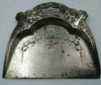 Vintage Metal Crumb Catcher - Dust Pan Rolling Tray