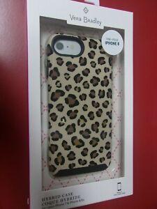 VERA BRADLEY Leopard Pattern i Phone 6 6s 7 8 Hybrid Phone Case New in Box