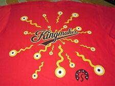 KINGMAKER EAT YOURSELF WHOLE VINTAGE UNUSED PROMO TEE SHIRT XL INDIE ROCK NICE
