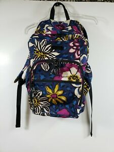 Vera Bradley 2014 AFRICAN VIOLET Lighten Up Large Backpack