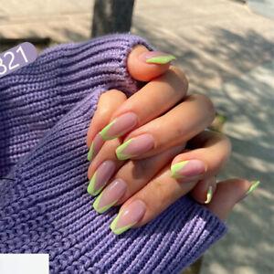 Tool Full Cover Fashion Nail Tips Fake Nails French False Nails Wearable