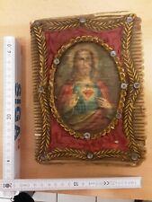 Jesus Wax Wachs Buch book communion Taufe 40s devotional items christian germany