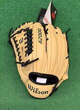 "2021 Wilson A2000 A12 12"" Left Hand Pitchers Utility Baseball Glove WBW10009312"