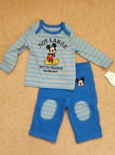 Disney Mickey Mouse baby outfit 3-6months