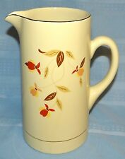 Hall Jewel Tea Autumn Leaf Pitcher Tankard 60th Anniversary 1993 Limited Edition