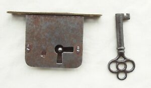 Vintage chest or gaming vending lock and key