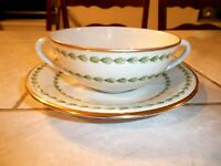 Bidasoa Espana Cream Soup Cup Bowl and Saucer