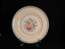 JOHNSON BROS OLD ENGLISH ENGLAND DINNER PLATE WINDSOR WARE FLORALS ROPE EDGE 10""