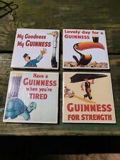 Guinness Beer ceramic coaster set