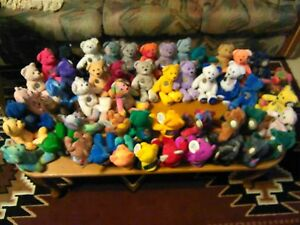 State Beanie Babies With Coins/ LOT
