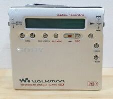 Sony Walkman Recording MD Minidisc MZ-R900