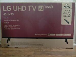 """NEW LG 43UN7300PTC 43"""" UN7300 4K UHD SMART LED TV , BRAND NEW"""