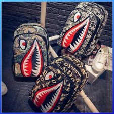 Ayo and Teo Backpack Bag a Bathing Ape backpack Bape Head teeth shark supreme