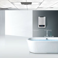Best Tankless Electric Hot Water Heater On Demand Cost LED Touch White Colour