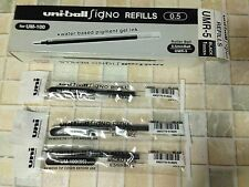 Uni-ball Signo Refill for UM-100 0.5 mm gel pen - BLACK X 12 pcs  UMR-5