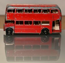 LOOSE DIECAST MATCHBOX LESNEY 1-75 SRS NO.5D ROUTEMASTER BUS BPW TO RESTORE