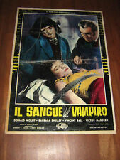 IL SANGUE DEL VAMPIRO BARBARA SHELLEY FOTOBUSTA