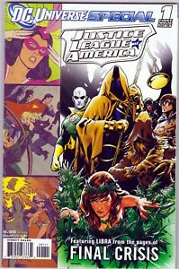 DC - DC Universe Special JLA 2008 Final Crisis Wein, Conway, Dillin, Giordano