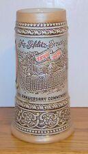 CERMARTE / 1970'S SCHLITZ 125TH ANNIVERSARY STOCK-HOLDERS STEIN RARE & HTF