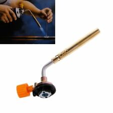 Flamethrower Burner Butane Gas Blow Torch Hand Ignition Welding BBQ Camping Tool