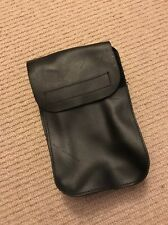"""Ex Police Black Leather Document Pouch For 2"""" Kit Belt. 39."""