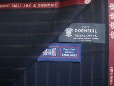 "DORMEUIL ""Royal Opera"" lana, seta, cashmere ingresso siano consone tessuto - 3,4 m.-made in Inghilterra"