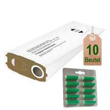 Filtertüten weiß Duftstäbchen grün geeignet für Vorwerk Kobold VK 120 121 122