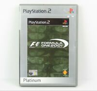 F1 Formula One 2001 PS2 PlayStation 2 Platinum Game Complete PAL