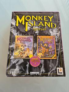 Monkey Island Special 1+2 PC 1997 Big Box