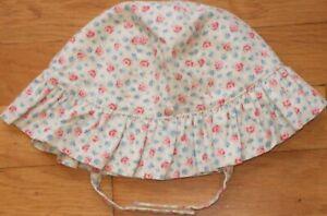 NEW Vintage 2002 GYMBOREE Floral WESTERN PRAIRIE Sun HAT Size 18-24 mo 2T 3T NWT