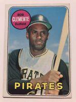 1969 Topps #50 Roberto Clemente / Bob Clemente Baseball Card