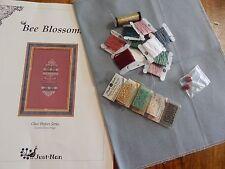 "Just Nan Cross Stitch Kit ""Bee Blossoms"""