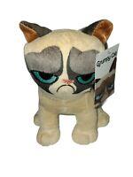 "7"" Plush Grumpy Cat toy stuffed animal new"