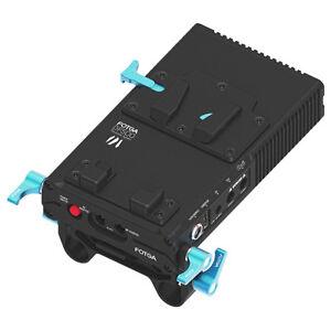 FOTGA DP500III V-Mount Uninterrupted Power Supply BP Battery Plate Lock DSLR Rig