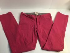 Chor Juniors Hot Pink Skinny Jeans Stretchy Size 7 Fast Shipping A5