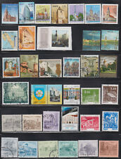 Estland, Lettland, Litauen  gestempelt 78 stück - Leuchtturm, Archidektur etc.
