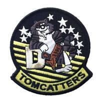 Parche Tela militar tomcatters USS Theodoore coser Parche piloto VF31 LastCat