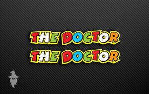 "THE DOCTOR 5"" Valentino Rossi Stickers | Suzuki Motorbike Decal"