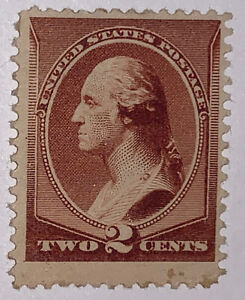 Travelstamps: 1881-82 US Stamps Scott #210 American Bank Note Issue Mint Some OG