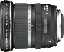 Canon Obiettivo Zoom Grandangolare EF-S 10-22mm f/3.5-4.5 USM + Paraluce EW-83E
